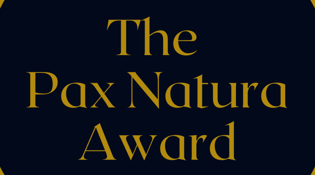 The Pax Natura Award